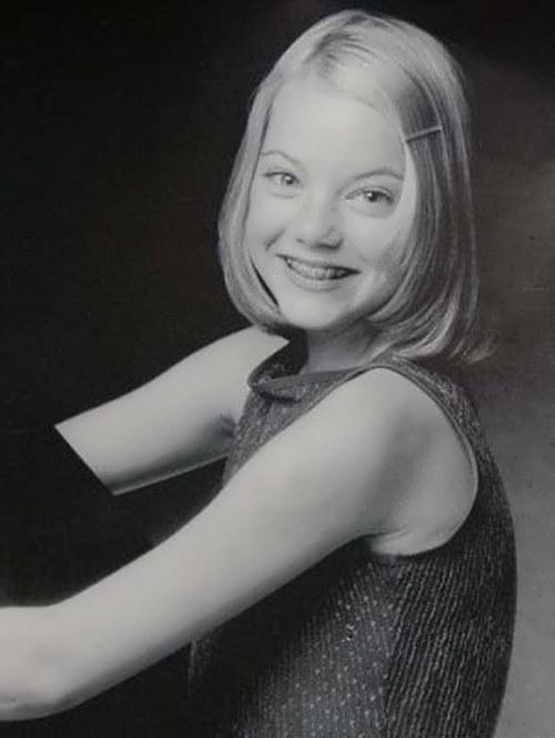 Emma in her childhood