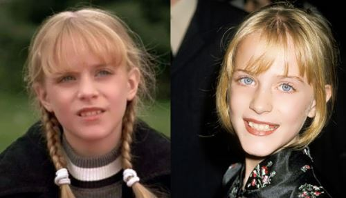 Evan Rachel Wood in her childhood