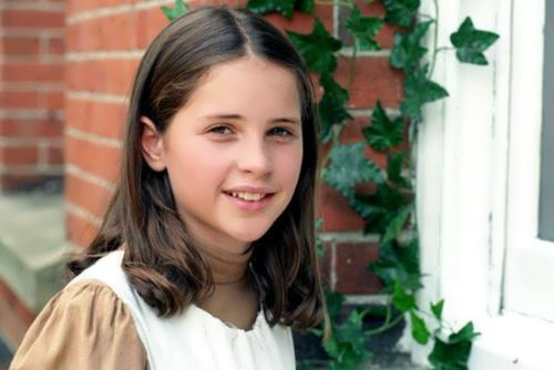 Felicity Jones in her childhood