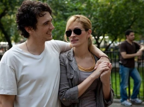 James Franco and Julia Roberts