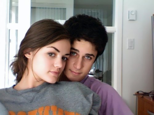 Lucy Hale and David Henry
