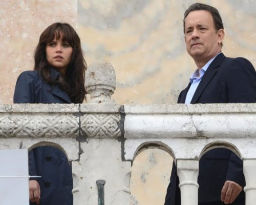 Tom Hanks and Felicity Jones