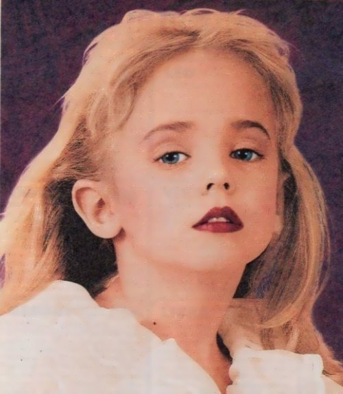 World Of Faces JonBenet Ramsey 0 World Of Faces