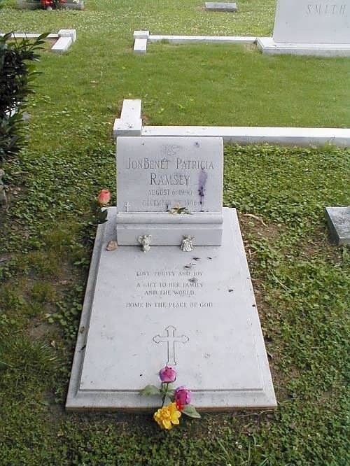 Grave of JonBenet
