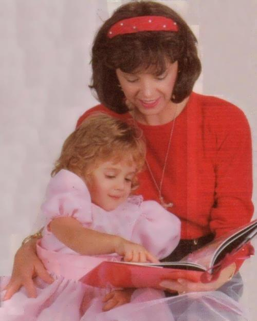 JonBenet and her mother