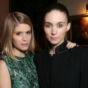 Kate and her sister Rooney Mara