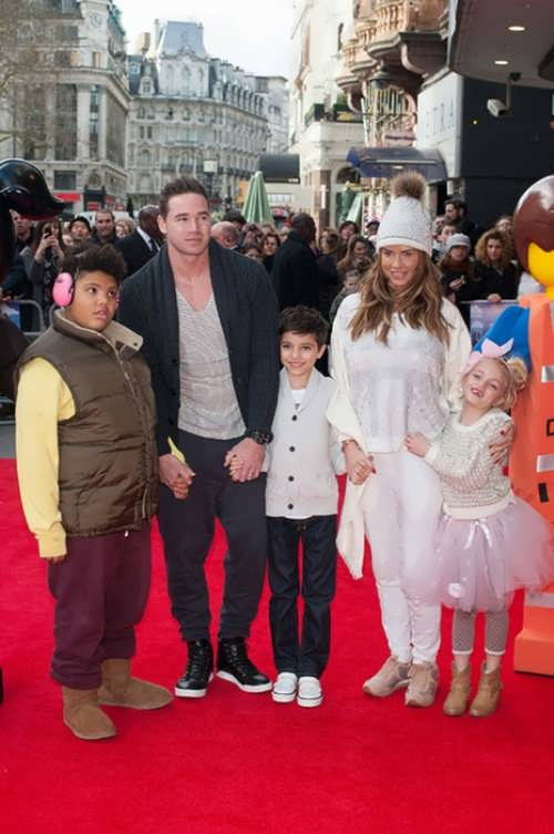 Katie Price and her children