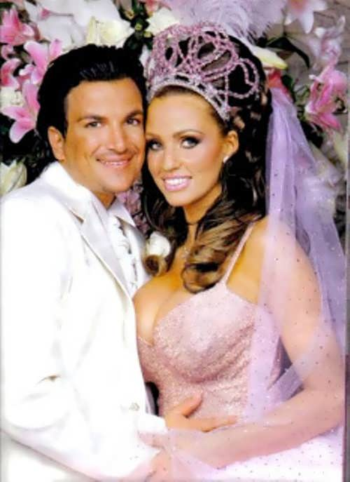Katie Price at her wedding
