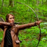 Jennifer as Katniss Everdeen
