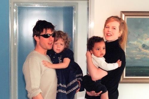 Nicole Kidman, Tom Cruise and their children