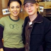 Mila Kunis and Macaulay Culkin