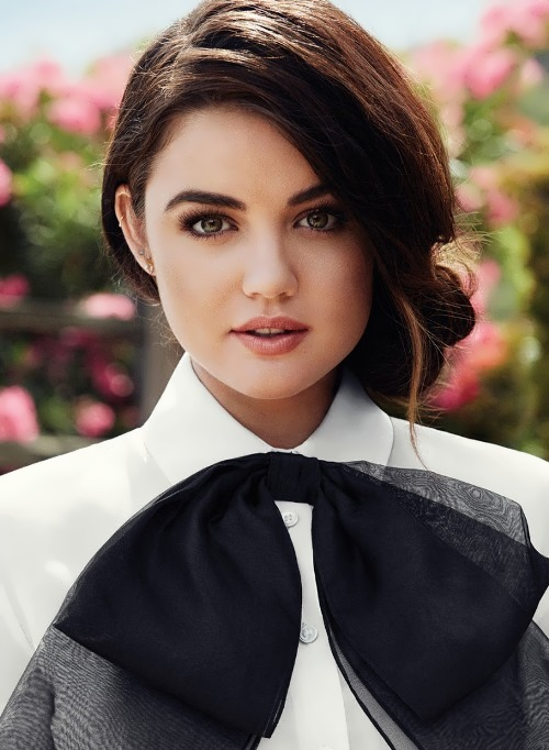 Lucy Hale - American actress and singer