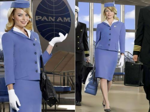 Robbie in the film Pan Am