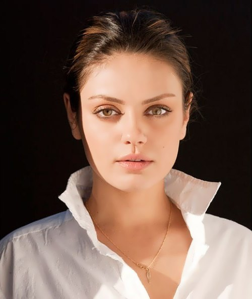 Mila Kunis - American film actress