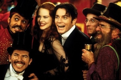 Nicole Kidman in the film Moulin Rouge