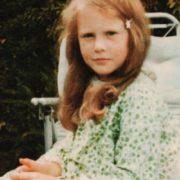 Nicole Kidman in her childhood