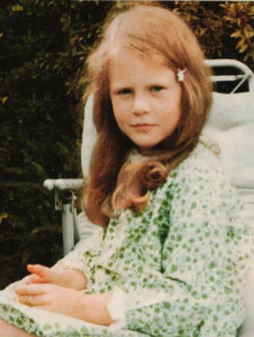 Nicole Kidman in her childhood