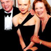 Nicole Kidman and her parents