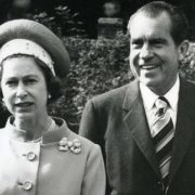 Richard Nixon and Elizabeth II