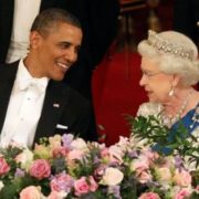 Barack Obama and Elizabeth II
