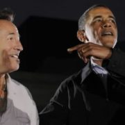 Barack Obama and Bruce Springsteen