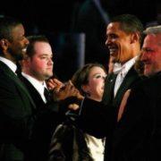 Barak Obama and Denzel Washington