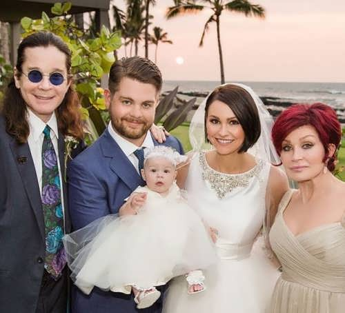 Ozzy and Sharon are grandparents