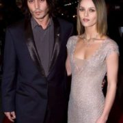 Vanessa and Johnny Depp