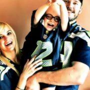Anna Faris, Chris Pratt and their son