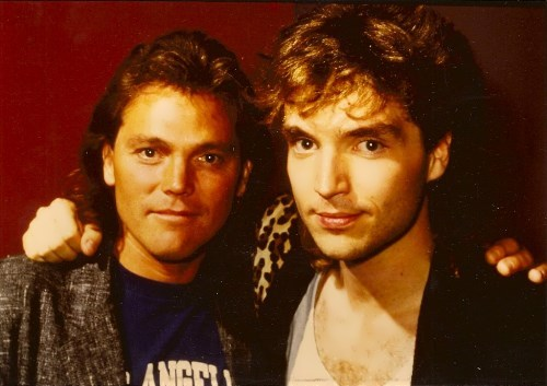 World of faces Richard Marx and Timothy Schmit - World of faces