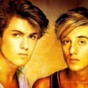Andrew Ridgeley and George Michael