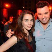 Seth McFarlane and Emilia Clarke