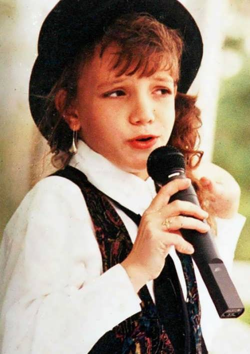 Britney Spears in her childhood