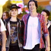 Evan Rachel Wood and Andy Tongren in Disneyland