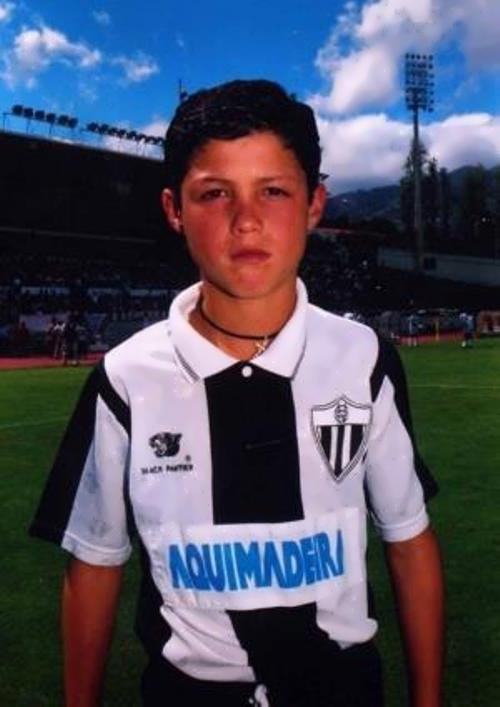 Ronaldo in his childhood