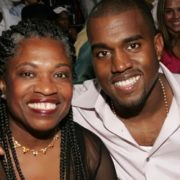 Kanye and his mother