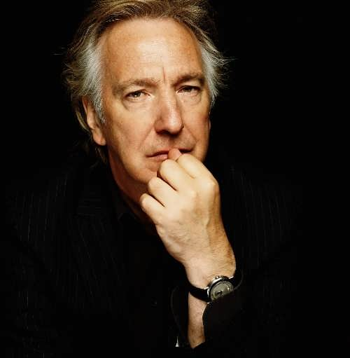 Alan Rickman - British film and theater actor