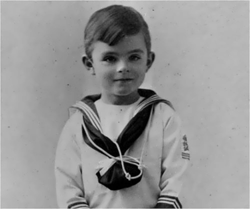 Alan Turing in his childhood