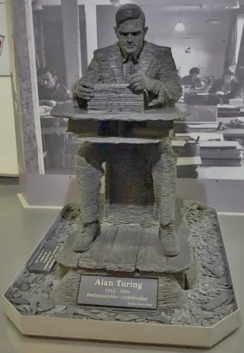 Monument to Alan Turing