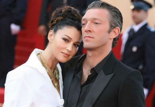 Monica Bellucci and Vincent Cassel