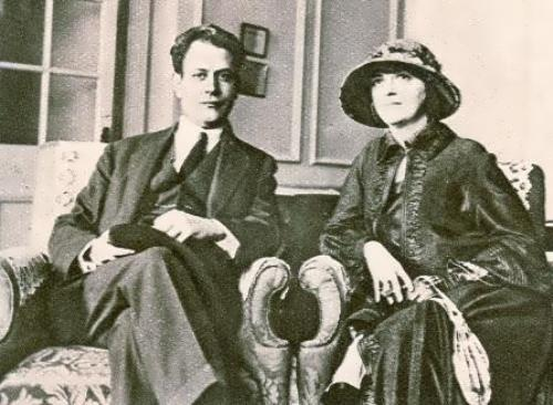 Capablanca and his wife Gloria
