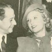 Capablanca and his wife Olga Chagodaeva