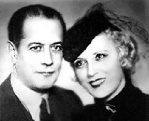 Capablanca and his wife Olga Chagodaeva