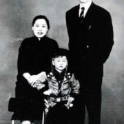 Little Jackie and his parents