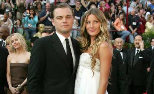 Gisele Bundchen and DiCaprio