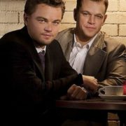 Matt Damon and DiCaprio