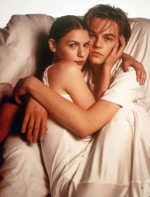 Claire Danes and DiCaprio