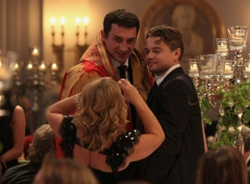 Wladimir Klitschko and DiCaprio