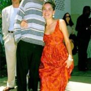 Sharon Stone and DiCaprio