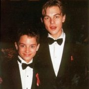 Elijah Wood and DiCaprio